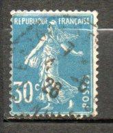 FRANCE 30c Bleu 1924-26 N°192 - France