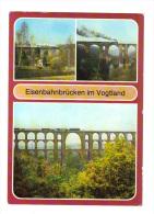 Allemagne: Eisenbahnbrucken Im Vogtland, Train, Locomotive (14-247) - Plauen