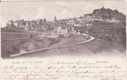 Fermo  Panorama.  Viaggiata 1900 - Ascoli Piceno