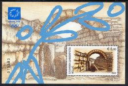 GREECE 2002 Athens Olympic Games III:  Ancient Art  Block MNH / **.  Michel Block 20 - Greece