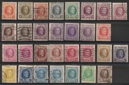 Belgique. 1921-1927. Entre  N° 190-219 Et 254-257. Oblit. Et Neuf * MH - 1922-1927 Houyoux