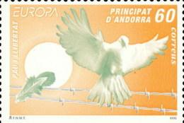 Andorra 248 ** Europa 1995 - Unused Stamps