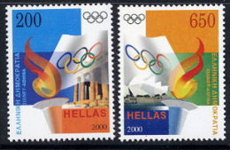 GREECE 2000 Sydney Olympic Games  Set Of 2 MNH / **.  Michel 2044-45 - Unused Stamps