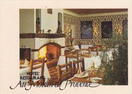 Cp , HÔTEL-RESTAURANT , Au Moulin De Provence , Vauvenargues 13126 - Restaurantes
