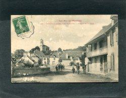 MONTGAILLARD  1908  AVENUE DE LA GARE   VUE GENERALE    CIRC  OUI  EDITEUR - France