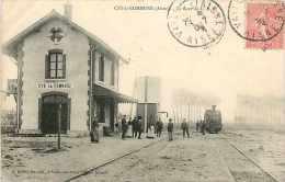 Déc13 160 : Cys-la-Commune  -  Gare - France