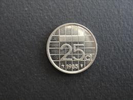 1985 - 25 Cents Pays-Bas - Netherlands - 1980-…: Beatrix