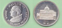 Vaticano Medaglia Papa Paolo VI  Giubileo 1975 Medaille Vatikan Silber - Tokens & Medals
