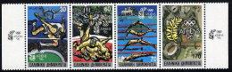 GREECE 1989 Athens 1996 Olympic Bid Strip Of 4 MNH / **.  Michel 1717-20A - Greece