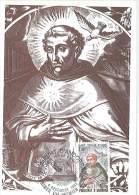 CM Andorre - 1982 - Saint Thomas D'Aquin - Cartas Máxima