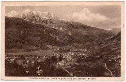 PONTEDILEGNO (BS) - PRIME VETTE DELL'ADAMELLO  - F/P - V: 1927 - Brescia