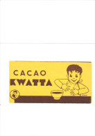CINQ ( 5 Ex) BUVARD CHOCOLAT KWATA ( Voir Photo) - Advertising