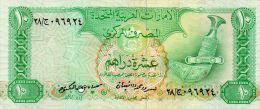 EAU : 10 Dirhams 1982 (vf) - Emirats Arabes Unis