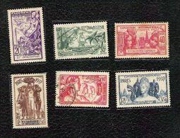 Nouvelle-Calédonie - Colonies Françaises - YT N°166 à 171 (série Complète) - New Caledonia