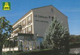 """Cp , HÔTEL , """"Le Cantalou"""" , Saint-Hippolyte , Chatelguyon , 63 - Restaurantes"""