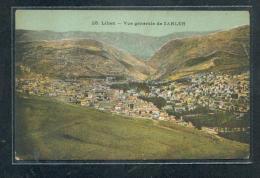 LIBAN : Vue Générale De ZAHLEH - Lebanon
