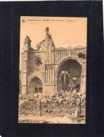 "44984  Belgio,  Ruines D""Ypres  1914-18,  Eglise  Saint-Martin,  Portail  Sud,  VG - Ieper"