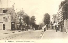 38 - PARAME - LE BOULEVARD ROCHEBONNE - TRAMWAY - Parame