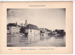 Soleure, Landhaus Photo CPN 9 X 14 Sur Carton 13 X18 (250) - Lieux