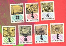 HONGRIE 1974 Echecs Echec Chess Schach Ajedrez Scacchi - Scacchi