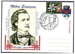 Romania Mihai Eminescu 164th Birthday. Turda 15 Ianuarie 2014. - Ecrivains