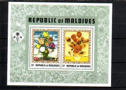 MALDIVEN.  KM  680.  POSTFRIS Z PLAKKER - Malediven (1965-...)