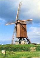 WANNEGEM-LEDE ~ Kruishoutem (O.Vl.) - Molen/moulin - Prachtige Kaart Van De Schietsjampettermolen, Afkomstig Uit Houtave - Kruishoutem