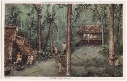 AMAZON RUBBER GATHERING~MILWAUKEE PUBLIC MUSEUM~MINIATURE SCALE MODEL~c1910s~WI WISCONSIN USA [4564] - Musei