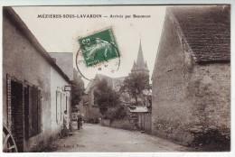 CPA MEZIERES SOUS LAVARDIN SARTHE - France