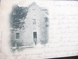 Rare CPA Précurseur 1901 Chalet Hotel Du Canigou. - Autres Communes