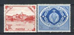 Pakistan 1957. Yvert 87-88 ** MNH. - Pakistan