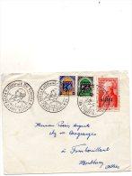 - Oblitération ALGER Maison Carrée, Journée Du Timbre 20 Mars 1954 - 918 - Algerije (1924-1962)
