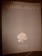 Janvier-Février 1946 PLAISIR DE FRANCE  ;La Philosophie De L' ESCALIER - Unclassified