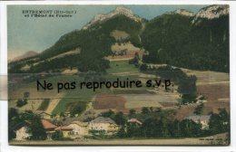 - ENTREMONT - ( Hte-Savoie ), Et L'Hôtel De France, Splendide, Peu Courante, Belle Couleurs, Non écrite, TBE, Scans. - Frankrijk