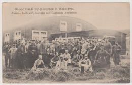 Kriegsgefangene, Gefangenenlager Wahn, Schiessplatz, K.S. Schweres Feldhaubitz Bat. No. 27 - Guerre 1914-18