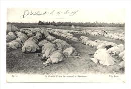 La  Grande Prière Terminant Le Ramadan -  Carte écrite De DEHIBAT En Juin 1919 - Tunisie