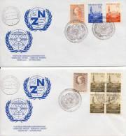 VN - 2 Prachtige Enveloppen - 1970 - UNO