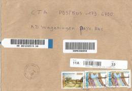 Senegal 2013 Richard Toll Weaving 500f SOS Children Village 300f Barcoded Registered Cover - Senegal (1960-...)