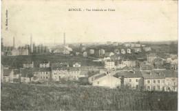 MEURTHE ET MOSELLE 54.AUBOUE VUE GENERALE ET USINE - Francia