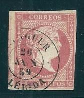 Spain 1855 4 Cu. Lerida Balaguer Tipo II Used - Used Stamps
