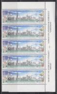 = Bloc 5 Timbres Neufs Gommés Anvers, Belgique, Capitale Culturelle De L'Europe 1991 - Belgio