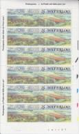 = Bloc 6 Timbres Neufs Gommés Belgique 1990, Avec Vignettes, Waterloo,1815-1990 - Libretti 1962-....