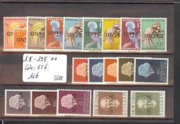 NED. NIEUW GUINEA ( UNTEA ) - No Michel 1 II - 19 II  ** ( MNH - SANS CHARNIERE )   -  Cote: 65 € - Nueva Guinea Holandesa