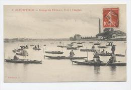 ALFORVILLE - 1909 - Groupe De Pêcheurs - Port à L´Anglais - Alfortville