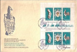 Old Letter - New Hebrides - FDC