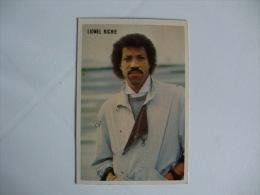 Lionel Richie The Top Disco Stars Portuguese Pocket Calendar 1986 - Calendriers