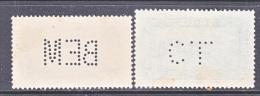 Morocco 98, 135   (o)  PERFINS - Morocco (1891-1956)