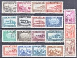 Morocco  124+   *   (o) - Used Stamps