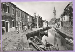 ITALIE  - BURANO  - Rue Rio De Terranuova - Animée - Vera Foto. - Other Cities