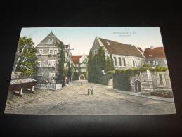 MÜHLHAUSEN I. TH. RATHAUSHOF 1913 Nach MAGDEBURG - Muehlhausen